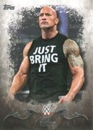2016 Topps WWE Undisputed Wrestling Cards The Rock 28