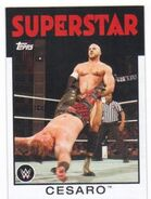 2016 WWE Heritage Wrestling Cards (Topps) Cesaro 9