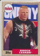 2017 WWE Heritage Wrestling Cards (Topps) Brock Lesnar 17