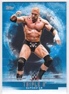 2017 WWE Undisputed Wrestling Cards (Topps) Triple H 37