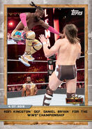 2020 WWE Countdown to WrestleMania (Topps) Kofi Kingston Def. Daniel Bryan for the WWE Championship (No.20)
