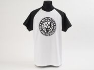 Black 'King Of Sports' Classic Lion Mark Baseball Sleeve T-Shirt