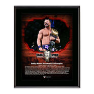 Bobby Roode NXT TakeOver San Antonio 10 x 13 Commemorative Photo Plaque