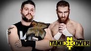 NXT Takerover V Owens v Zayn