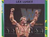 1995 WWF Wrestling Trading Cards (Merlin) Lex Luger (No.170)