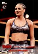 2018 WWE Wrestling Cards (Topps) Sonya Deville 85
