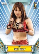 2019 WWE Women's Division (Topps) Io Shirai 37