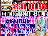 CMLL Guadalajara Domingos (April 14, 2019)
