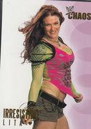 2004 WWE Chaos (Fleer) Lita 77