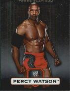 2010 WWE Platinum Trading Cards Percy Watson 41