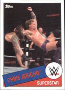 2015 WWE Heritage Wrestling Cards (Topps) Chris Jericho 67