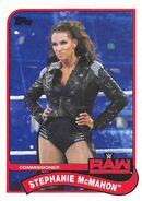 2018 WWE Heritage Wrestling Cards (Topps) Stephanie McMahon 77