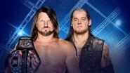 Hell in a Cell 2017 AJ Styles vs. Baron Corbin