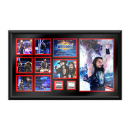 Roman Reigns WrestleMania 33 Signed Commemorative Plaque