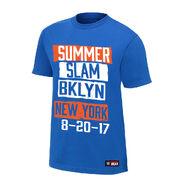 SummerSlam 2017 BKLYN Blue Youth T-Shirt