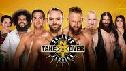 TakeOver Orlando 8 Man Tag Match