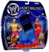WWE Adrenaline Series 4 Billy Gunn & Torrie Wilson