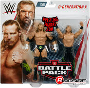 WWE Battle Packs 58 Triple H & Shawn Michaels