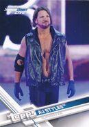 2017 WWE Wrestling Cards (Topps) AJ Styles 35