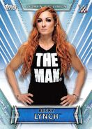 2019 WWE Women's Division (Topps) Becky Lynch 20