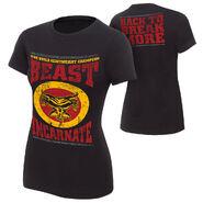 Brock Lesnar Beast Incarnate Women's T-Shirt