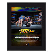 Charlotte FastLane 2018 10 x 13 Photo Plaque