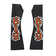 REY MYSTERIO BLACK ORANGE ARM SLEEVES