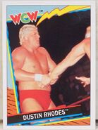 1992 WCW Trading Cards (Topps) Dustin Rhodes 51
