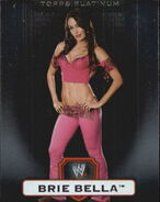 2010 WWE Platinum Trading Cards Brie Bella 123