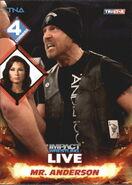 2013 TNA Impact Wrestling Live Trading Cards (Tristar) Mr. Anderson 58