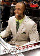2017 WWE Wrestling Cards (Topps) Byron Saxton 4