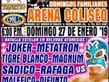 CMLL Guadalajara Domingos (January 27, 2019)