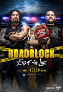 Roadblock End of the Line poster