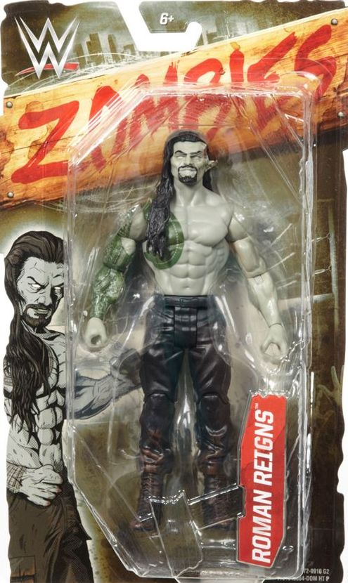 WWE Zombies Action Figure Roman Reigns Wrestling Toy