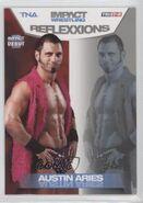 2012 TNA Impact Wrestling Reflexxions Trading Cards (Tristar) Austin Aries 18