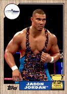 2017 WWE Heritage Wrestling Cards (Topps) Jason Jordan 50