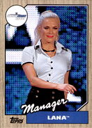 2017 WWE Heritage Wrestling Cards (Topps) Lana 27