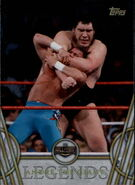 2018 Legends of WWE (Topps) Andre The Giant 1