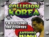 Kollision in Korea