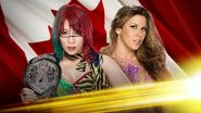 NXT TakeOver Toronto Asuka vs. Mickie James