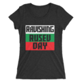 Rusev & Lana MMC Ravishing Rusev Day Logo Women's Tri-Blend T-Shirt