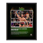 Rusev Money In The Bank 2016 10 x 13 Photo Collage Plaque