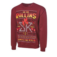 Seth Rollins Ignite the Will Ugly Holiday Sweatshirt