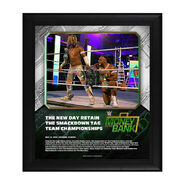 The New Day Money In The Bank 2020 15 x 17 Limited Edition Plaque