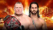 WM 35 Rollins v Lesnar