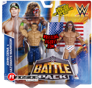 WWE Battle Packs 31 Ultimate Warrior & John Cena