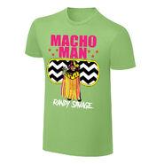 WWE X NERDS Macho Man Randy Savage Cartoon T-Shirt