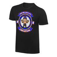 WWE x NERDS John Cena Hustle Loyalty Respect Cartoon T-Shirt