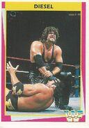 1995 WWF Wrestling Trading Cards (Merlin) Diesel 102