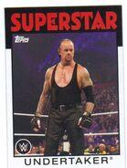 2016 WWE Heritage Wrestling Cards (Topps) Undertaker 39